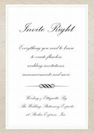 proper wedding invitation wording wedding invitation wording and wedding etiquette made easy