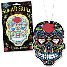 sugar skull air freshener archie mcphee co