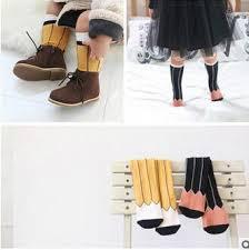 2016 korean baby knee high socks for boys girls kids knee socks