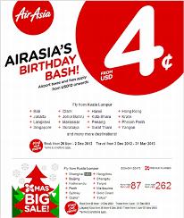 airasia singapore promo airasia birthday sale until december 2 loyaltylobby