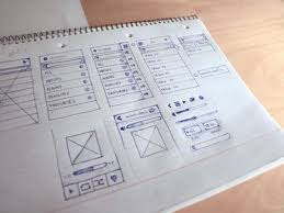 inspiring wireframe sketches we love brisbane u2013 website design