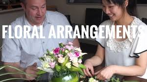 Flower Arranging For Beginners How To Do Floral Arrangements For Beginners Youtube