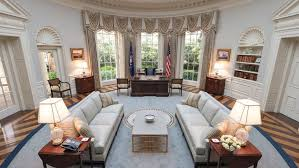 Trump Oval Office Rug 3 Tv Set Designers On How They U0027d Design The Oval Office For