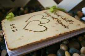 anniversary guest book rustic bridal shower advice guest book wedding anniversary