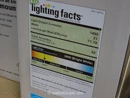 Costco Led Light Fixture Altair Lighting 14 Inch Flushmount Led Light Fixture