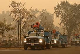 California Wildfire Locations 2015 by Pg U0026e Donates 250 000 To American Red Cross To Ease California