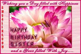 free sister birthday cards best 25 birthday greetings to sister