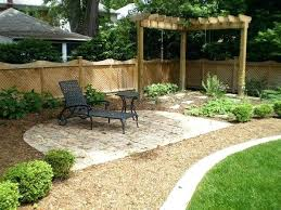 Pinterest Small Backyard Backyard Landscape Ideas Pinterest Small Backyard Landscaping