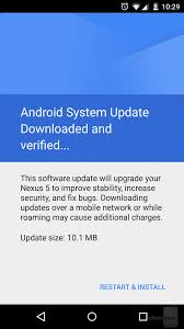 s monthly android security updates for nexus devices are - Android Security Update