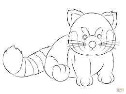 awesome baby panda coloring pages printable with panda coloring