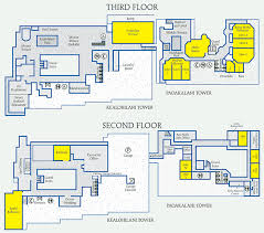 resort floor plan floor plans capacity charts waikiki beach marriott resort