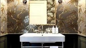 Wallpaper Ideas For Bathroom Awesome Wallpaper Collection Bathroom Ideas Shining Design