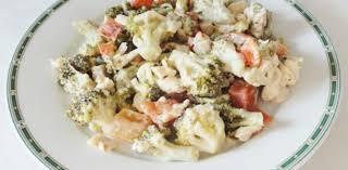 cuisine froide salade froide poulet brocolis aux fourneaux