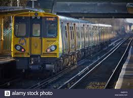 Commuter Rail by Class 507 508 Emu Third Rail Electric Merseyrail Commuter Rail
