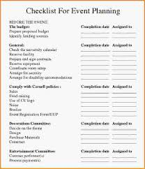7 event planner checklist loan application form