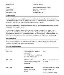 Resume Templates For Download Sample Modern Cv Template 7 Download Free Documents In Pdf