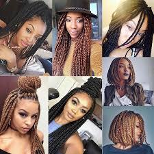 medium size packaged pre twisted hair for crochet braids 14 3s box braids hair medium length pre twisted box braids black