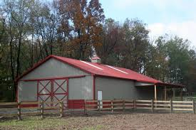 Lean To Barns Cb Structures Inc Horse Barns Horse Barn Construction