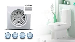 quiet fans for home silent 100 wc bathroom axial extract fan