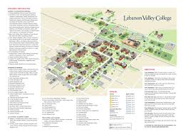 Illinois State University Campus Map by Come See For Yourself Lvc Campus Map Brochure By Lebanon Valley
