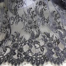 online shop chantilly fabric vintage black wedding dress lace