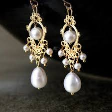 most beautiful earrings contest time win a beautiful pair of filigree pearl earrings from