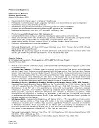 Senior System Administrator Resume Sample On Aura Tout Essaye Archimede Example Resume For Federal