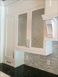 100 glass front kitchen cabinets white glass door kitchen