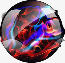 vector colored balls vector painted color png