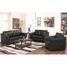 3pc Living Room Set Lincoln 3 Piece Top Grain Leather Living Room Set