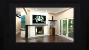 contemporary fireplace houzz client youtube
