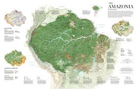 Map Of The Amazon River The Amazon Rain Forest Is Not An Untamed Jungle Nat Geo