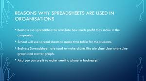 Excel Spreadsheet Development Unit 9 Spreadsheet Development Assignment 1 Ppt Video Online