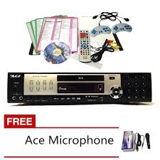 ace midi 9909 all in one karaoke dvd player with ace 504