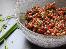 cuisiner les lentilles vertes 019 salade veggie quinoa et lentilles vertes the kitchen