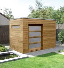 contemporary garden shed in iroko u2026 pinteres u2026