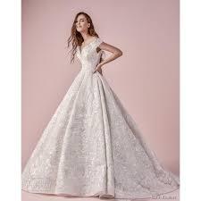 Wedding Dress Online Shop Saiid Kobeisy 2018 Short Sleeves Ball Gown Off The Shoulder Chapel