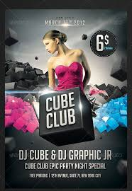 club flyer free valentines day single party flyer template