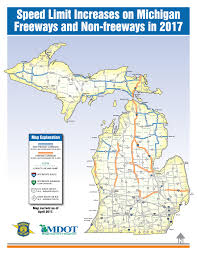 Bay City Michigan Map by Speed Limit Changes On Some Michigan Highways Coming May 1