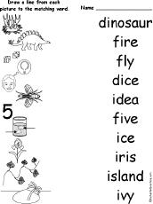 long i alphabet activities at enchantedlearning com