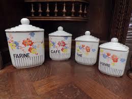antique kitchen canisters antique kitchen canisters un jour en