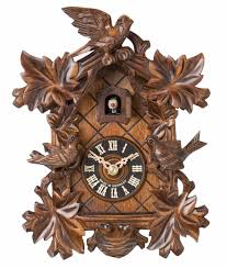 decor unique hanging cuckoo clock with wood material for antique