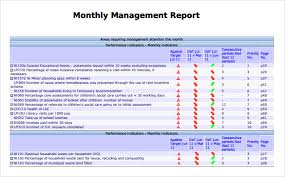 how to write a monthly report template management report fieldstation co