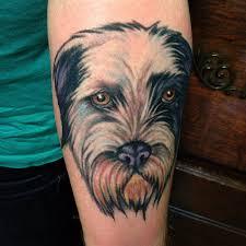 terrier tattoo christy fish inked magazine