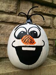halloween paintings ideas halloween fun disneyside pumpkin painting olaf disneyside