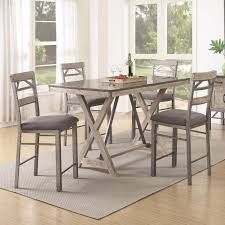 melbourne table 106328 coaster furniture counter height dining