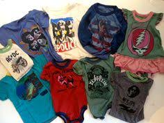 band baby rock n roll baby clothes rowdy sprouts halen onesie