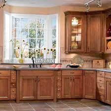 Lowes Kitchen Backsplash Decorating Cherry Cabinets By Lowes Kitchens Plus Countertop And