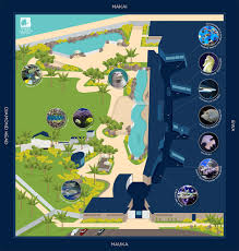 map of waikiki waikīkī aquarium overview map