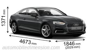 dimension audi a6 dimensions of audi cars showing length width and height